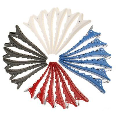 24pcs Hair Grip Clips Parrucchiere Sectioning Cutting Styling DIY Forcine