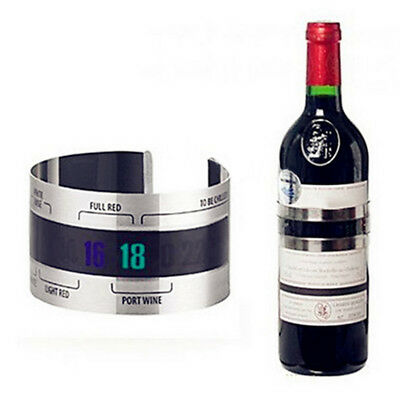 Bracelet Thermometer Grape Red Wine Temperature Sensor for Beer Home Brewing Rak