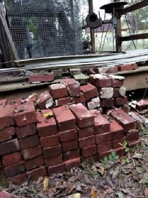 Bricks Red Georgia Clay Fire Bricks 130 years old in good condition
