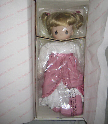 Hamilton Collection Porcelain Doll Ashley New In Box Certificate Of Authenticity
