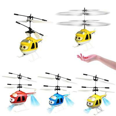 Handy Aircraft Infrared Sensor Remote Control RC Helicopter Radio Kids Toy BD #Z