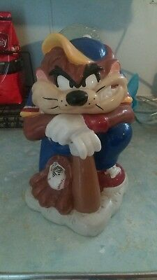 Looney Tunes Tasmanian Devil Batter Up Baseball Cookie Jar By Everyday Gibson
