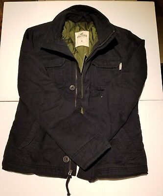 Abercrombie Quilted Lined Jacket Mens Medium NWT