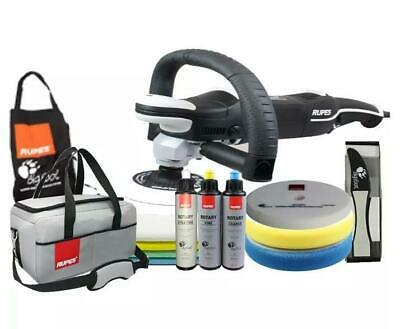 Rupes Bigfoot LH19E/DLX Rotary Polisher Deluxe Kit 150mm Auto Polishing Detailin