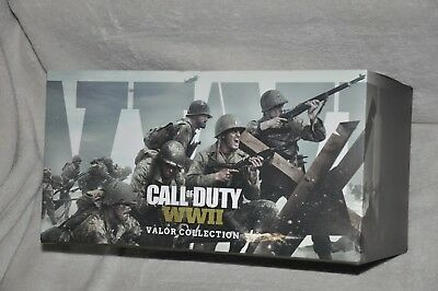 PlayStation 4 PS4 Call of Duty: WWII Valor Limited Collector's Edition Sold Out