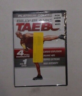 Billy Blanks Tae Bo: Plantinum Collection (DVD, 2014) BRAND NEW, Cardio, Abs