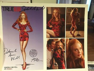 "SIGNED TRUE BLOOD (Karaoke Dress) Photo by DEBORAH ANN WOLL 8""x10""-for CHARITY!"