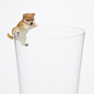 Kitan Club PUTITTO Series Shiba inu Dog Animal Cup edge Akage Norikoe Figure