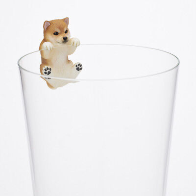 Kitan Club PUTITTO Series Shiba inu Dog Animal Cup edge Akage Hikkakari Figure