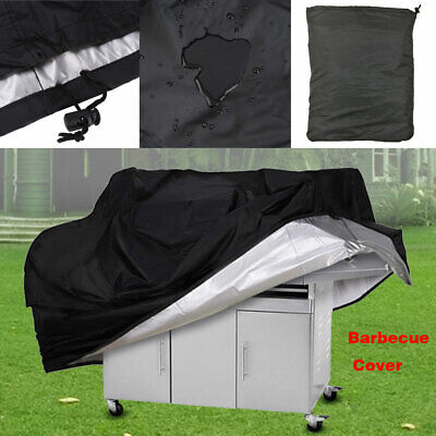 BBQ S-XL Grill Cover Gas Barbecue Heavy Duty Waterproof Dustdproof Outdoor