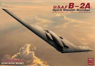 Modelcollect UA72201 USAF B-2A Stealth Bomber in 1:72