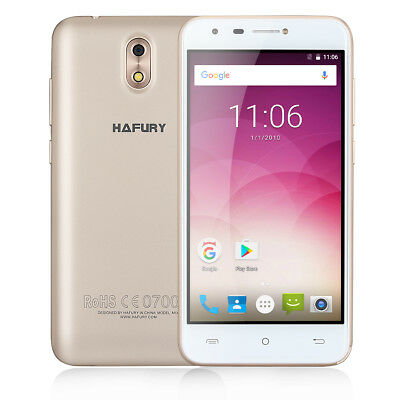 CUBOT Hafury Mix Android 7.0 IPS 16GB+2 Teléfono 13MP Quad Core Dual SIM Móvil