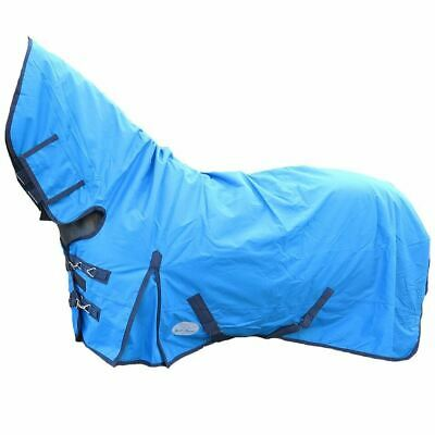 Mediumweight 200g 600D Fixed Horse Pony Combo Full Neck Waterproof Turnout Rugs