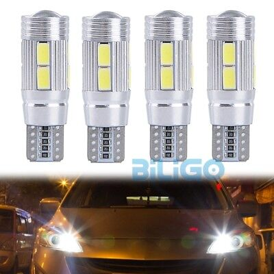 4x 3W 10 SMD 5630 CREE CHIP LED Xenon W5W Canbus Standlicht Weiß Beleuchtung【DE】