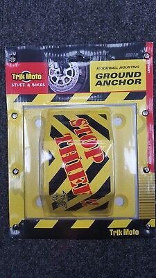 Tractor Farm Equipment Heavy Duty Security Solid Wall Ground Anchor Lock Point