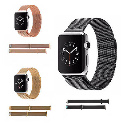 Milanese Magnetic Loop Stainless Steel Strap iWatch Band For Apple Watch Classic