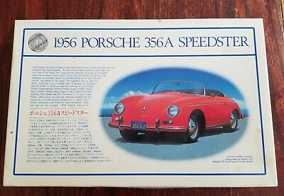TOMY Japan Tomy 1956 PORSCHE SPEEDSTER 356a MODEL KIT COMPLETE