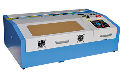 CO2 Laser Engraver Cutting Machine Acrylic Wood Bamboo Engraving 320ZGD 20x30cm