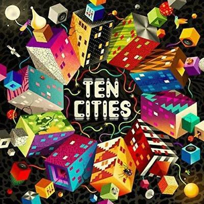 SOUNDWAY TEN CITIES V/A FEAT PINCH LUNABE 3x Vinyl LP INC DOWNLOAD(NEW/SEALED)