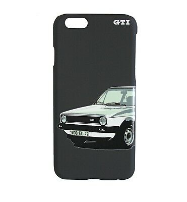 original vw gti iphone 7 handy h lle schwarz gti golf i. Black Bedroom Furniture Sets. Home Design Ideas