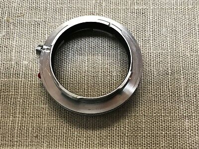 Leica lens adapter - 16469Y for use in macro-photography.