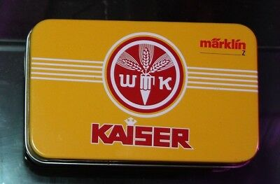 MARKLIN MINI MUSEUM WAGEN ( Wagon maerklin mini club train échelle Z scale spur