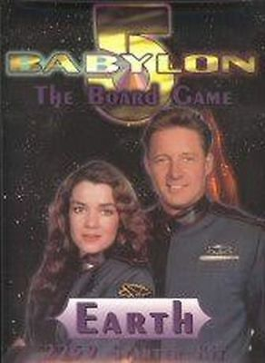 Babylon 5 - The Board Game Starter Kit Earth - Limited Edition 1997 - Englisch