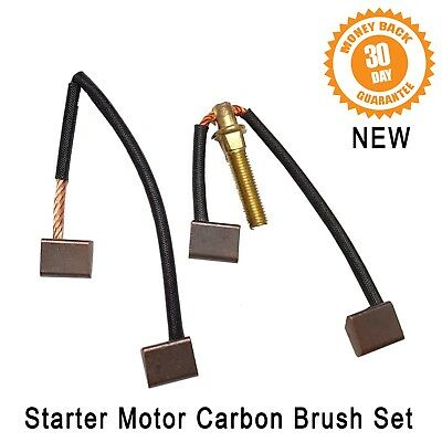 Starter Motor Carbon Brush Set M35J Ford Capri Escort Cortina Fiesta Sierra New