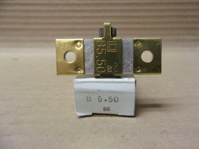 New Square D B5.50 overload heater element