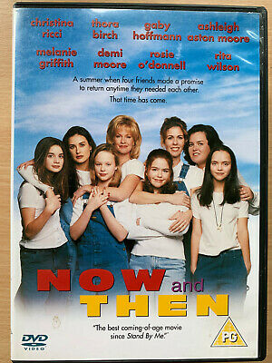 Demi Moore Christina Ricci NOW AND THEN ~ 1995 Girls Coming of Age Drama UK DVD
