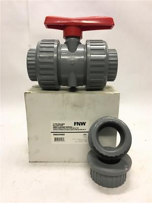 "FNW 2"" CPVC True Union Ball Valve Approx. 8-1/2"" Long EPDM FNW350NEK"