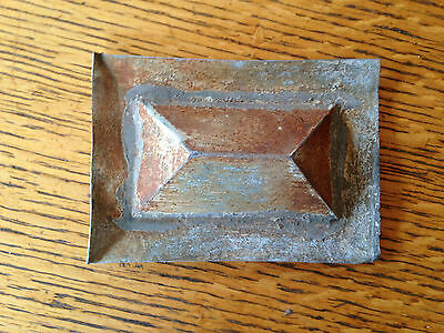 Antique Salvaged Tin Squares
