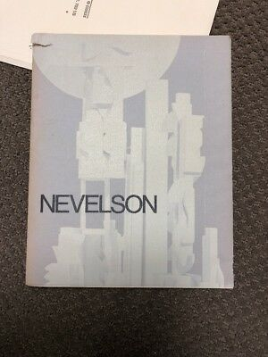 Nevelson Exhibit Catalog - The Pace Gallery, 1976 - Fine.