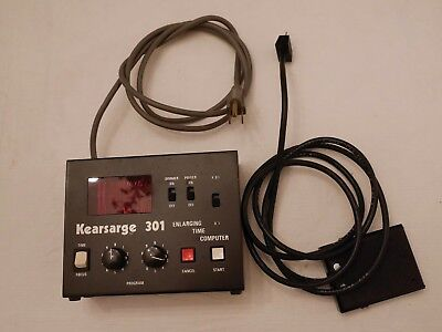 Kearsarge 301 Darkroom Timer with Foot Switch