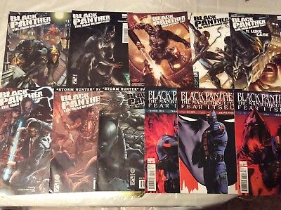 Black Panther: The Man Without Fear #513- 523 (11 Comics)