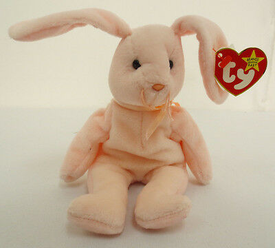 Beanie Baby Hoppity The Bunny Babies 1996 New Collection Rare Collectors Ty Cute