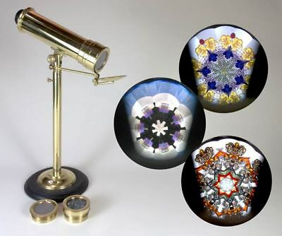 Dominique Stora Parlor Kaleidoscope w/3 interchangeable object cells