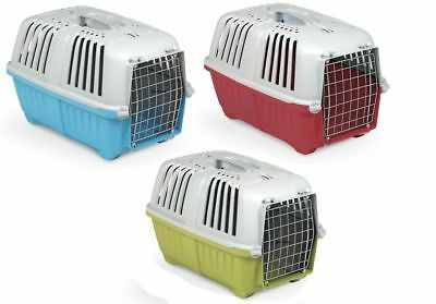 PRATIKO Pet Carrier Cage Dog Cat Large, 55 x 36 x 36 cm by AJS