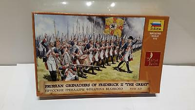 Zvezda 8071 Prussian Grenadiers Frederick The Great Friedrich Große Preußen 1:72