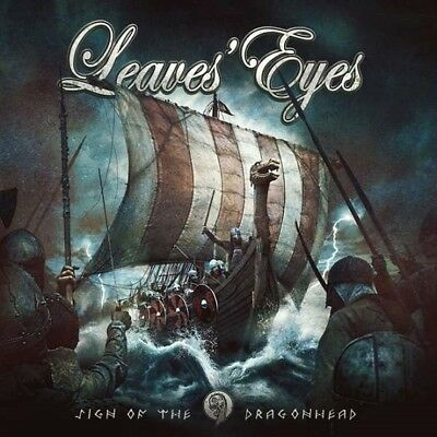 Leaves' Eyes / Sign Of The Dragonhead * New Colored Yellow Vinyl Lp 2018 * Neu