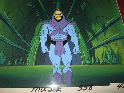 HeMan Original Production Cel & Production Background
