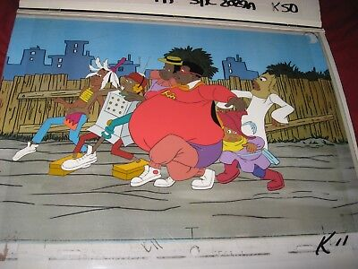 Fat Albert Original Production Cel