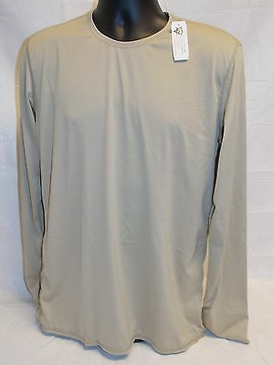 TAN GEN III POLARTEC LIGHT WEIGHT UNDERSHIRT LEVEL 1 SILK LARGE/LONG TOP a3