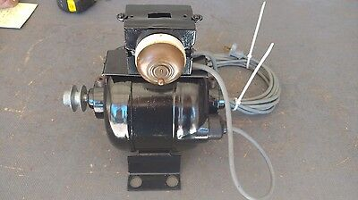 Vintage Robbins and Myers 1/4 HP Motor Model M8218HJ w/ H&H Switch and Pulley