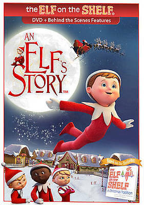 An Elf's Story DVD The Elf on the Shelf Based on A Christmas Tradition NEW