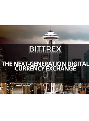 Bittrex unverified Account - Start trading today! never used !! $5000