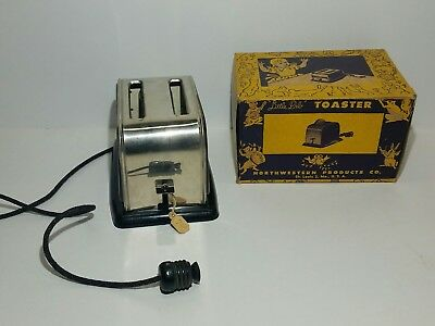 Rare NOS 40s Vintage Toaster  Little Deb Northwestern Products Never Played With