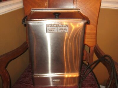 Chattanooga Hydrocollator Heating Unit E-1 USED with RACK