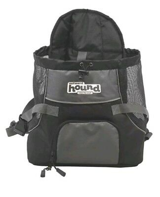 Outward Hound PoochPouch Adjustable Front Carrier For Dogs, Medium, Grey