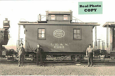 Lake Erie & Western (New York Central) Railroad Caboose #C105
